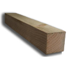"3 x 3"" (75 x 75mm) Sawn Timber Posts"